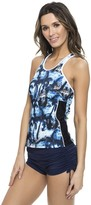 Nautica Palm To Perfection Racerback Tankini Top