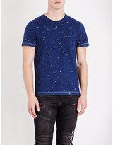 True Religion Paint Splatter Cotton T-shirt