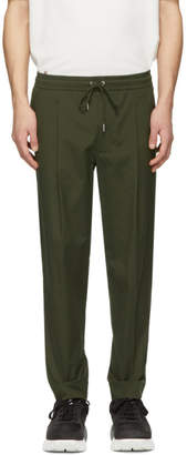 Moncler Khaki Tapered Sportivo Trousers