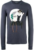 Dolce & Gabbana Designers patch T-shirt - men - Cotton - 50