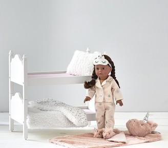 Pottery Barn Kids Special Edition Eva Blush Unicorn Sleepover Gotz Doll Bundle Set