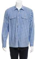 Michael Kors Plaid Button-Up Shirt