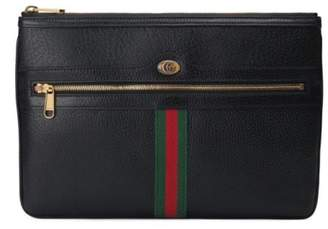 Gucci Ophidia Leather Pouch
