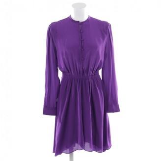 Etoile Isabel Marant Purple Silk Dress for Women