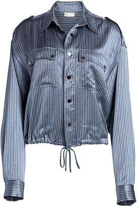 Ramy Brook Lia Lurex Stripe Jacket