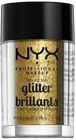 NYX Face & Body Glitter Gold