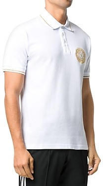 Versace Jeans Couture Slim Fit Medallion Polo