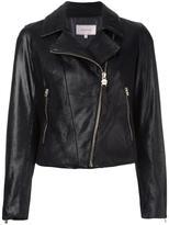 Borbonese classic biker jacket