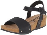 Rocket Dog Women's Gem Snake Wood Pu-Rio Pu Fisherman Sandal