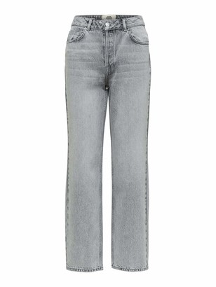 Selected Women's Slfkate Hw Straight Blast Jeans W