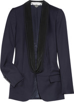 Mathilda wool-twill blazer