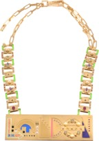 Maria Francesca Pepe London City Statement Necklace