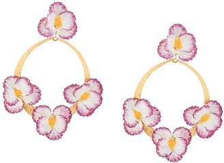 Jennifer Behr Voleta floral earrings