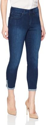 NYDJ Women's Petite Ami Skinny Ankle with Dolphin Hem