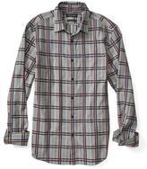 Banana Republic Camden-Fit Luxe Flannel Windowpane Shirt