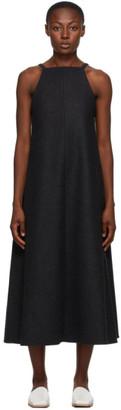 AURALEE Grey One-Piece Long Dress