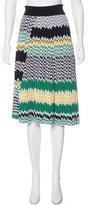 Celine Knit Knee-Length Skirt