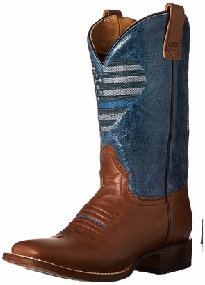 Roper Women's Thin Blue Line Heart Fashion Boot