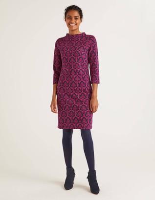 Victoria Jacquard Dress