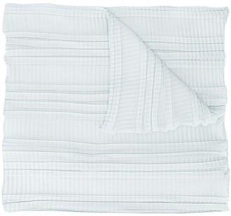 Emporio Armani Pleated Knit Scarf