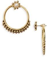 Luv Aj Women's Versailles Hoop Ear Jackets