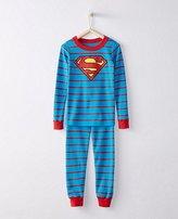 Kids DC ComicsTM Superman Long John Pajamas In Organic Cotton