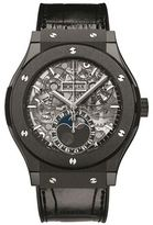 Hublot Classic Fusion 45mm Moonphase Black Magic Watch