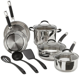 Cuisinart Stainless Steel Cookware Set (11 PC)