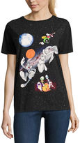 Freeze Space Jam Graphic T-Shirt- Juniors