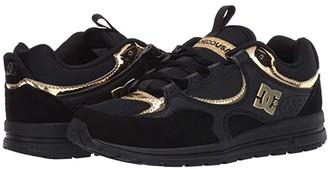 DC Kalis Lite (Black/Gold) Women's Skate Shoes