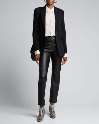 Joseph Cindy Stretch Leather Pants