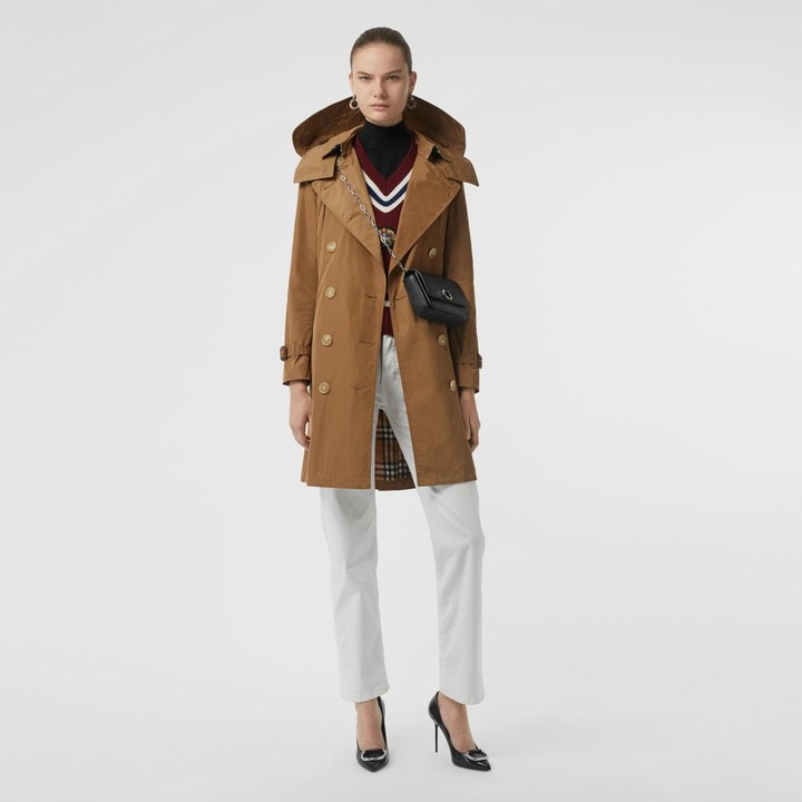 ed6eb1333a6 Burberry Camel Coat - ShopStyle