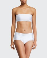 Thumbnail for your product : MARIE FRANCE VAN DAMME Solid Bandeau Bikini Top