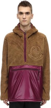 MONCLER GENIUS Faux Fur Casual Jacket