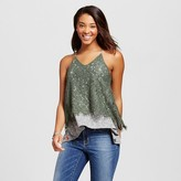 Xhilaration Women's Two-fer Tank Top Juniors')