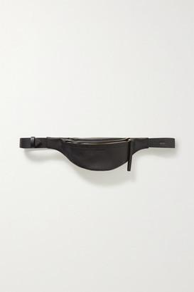 Nanushka Lubo Mini Leather Belt Bag - Black
