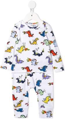 Stella McCartney dragon-print top and leggings set