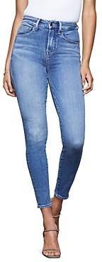 Good American Good Waist Skinny Jeans in Blue350
