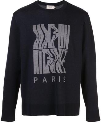 MAISON KITSUNÉ Logo Knit Sweater