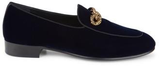 Giuseppe Zanotti Veronica Velvet Dress Shoes