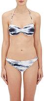 Zero Maria Cornejo Women's Belu Bikini Top-Blue