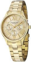 Stuhrling Original Sthrling Original Womens Gold-Tone Stainless Steel Bracelet Watch