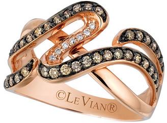 LeVian 14K Rose Gold 0.54 Ct. Tw. Diamond Ring