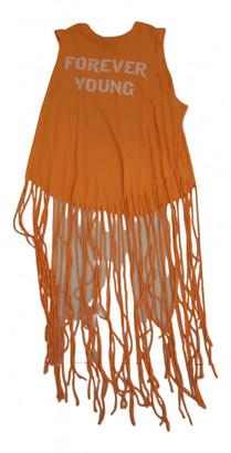 Wildfox Couture Orange Cotton Dresses