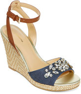 Liz Claiborne Sellina Wedge Sandal