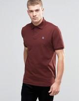 G-star Polo Shirt In Dark Bordeaux