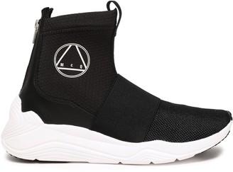 McQ Hikaru Neoprene High-top Sneakers