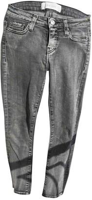 IRO Grey Cotton - elasthane Jeans