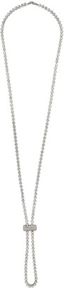 Jacquemus Silver Le Cordon Swarovski Necklace