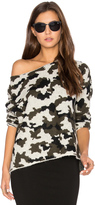 Central Park West Camo Sweater